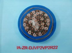 IA-ZR-DJVP2VP2R22 0.3/0.5KV 24*1.5本安铠装计算机屏蔽电缆
