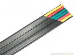 扁平拖链电缆 移动安装场合拖链电缆