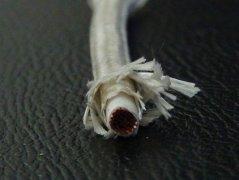 单芯玻璃丝编织硅橡胶线缆(耐高温)