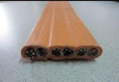 弹性体耐低温探测控制扁平软电缆