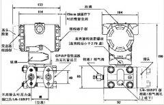 智能式变送器3051DP2S22M3B1